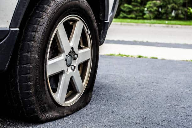 Spare tyre and rim in SW17 London for